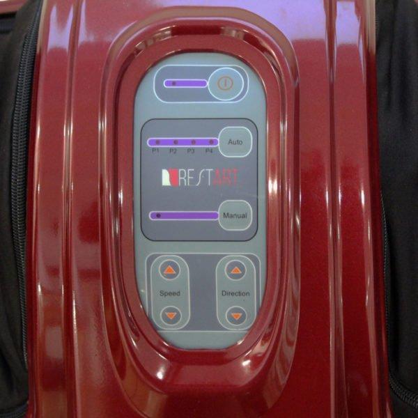 Массажер для ног (стоп и лодыжек) Bliss, пульт ДУ, роликовый тонизирующий массаж, бордовый