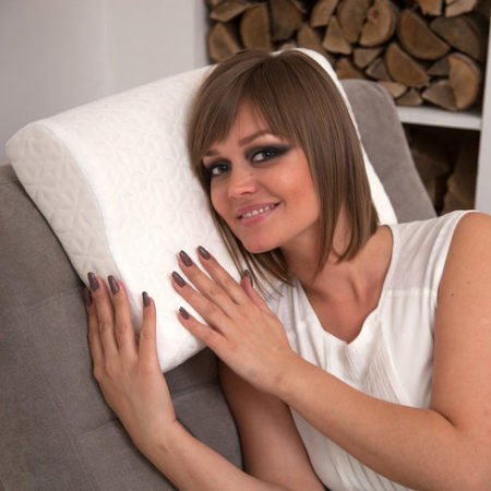 Ortosleep ортопедическая подушка с эффектом памяти  (60 * 40 * 13 см)