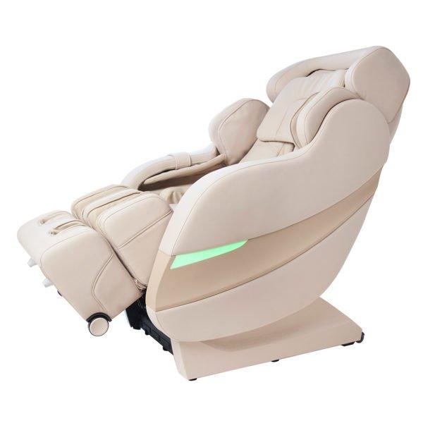 Массажное кресло Rolfing (Рольфинг) бежевое, нулевая гравитация, Sliding, 3D массаж, прогрев, GESS-792
