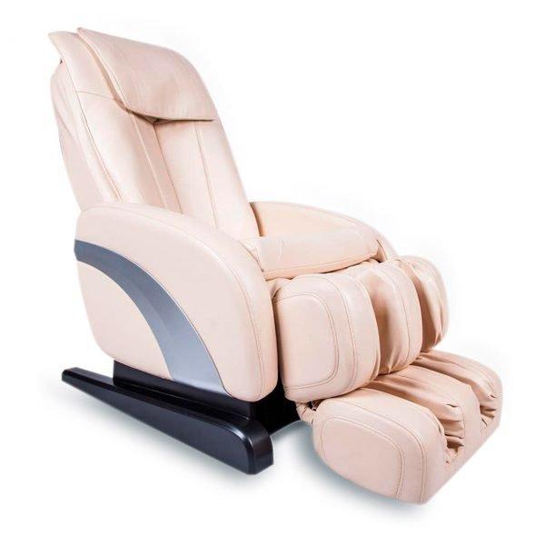 Массажное кресло Comfort для дома и офиса, базовые функции, бежевый, прогрев, 3 автоматические программы, GESS