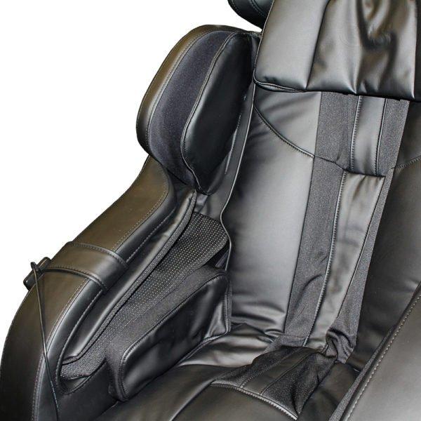Массажное кресло Rolfing для дома и офиса, Zero-G, 3D массаж, слайдер, черное, прогрев, GESS
