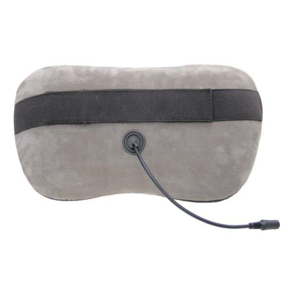 Массажная подушка uShiatsu , роликовый массаж, 3D массаж,подогрев, сеть, автоадаптер, автоотключение GESS