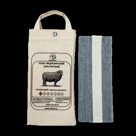 Медицинский согревающий пояс для поясницы и спины с шерстью верблюда №4 (L, 82-87)