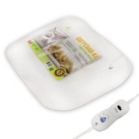 Электрогрелка для тела Hotty, 40*50, карбоновый нагреватель, 4 режима, автотаймер, EcoSapiens