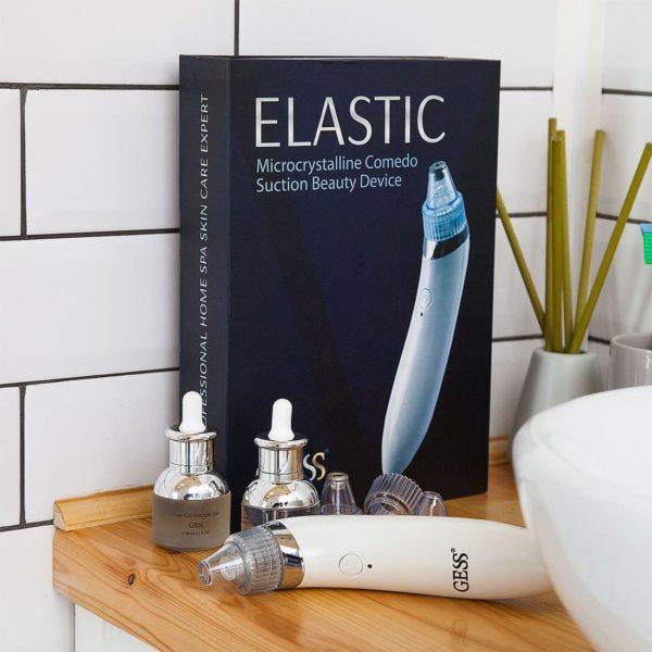 Elastic прибор 2 в 1 для вакуумной чистки и дермабразии