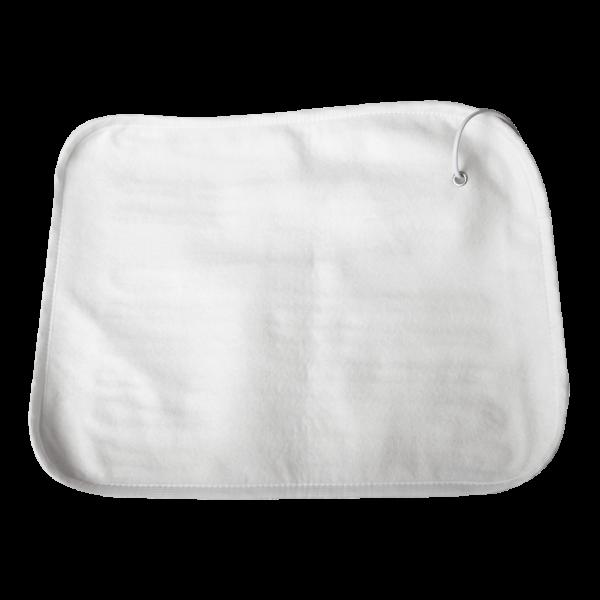 Электрогрелка для тела Согревай-ка 40*50, белая, полиэстер, 4 режима, автотаймер , Инфракрасная, EcoSapiens