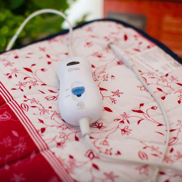 Электрогрелка Hotty, 40*50, хлопок, инфракрасный прогрев, 4 режима, автоотключение, EcoSapiens