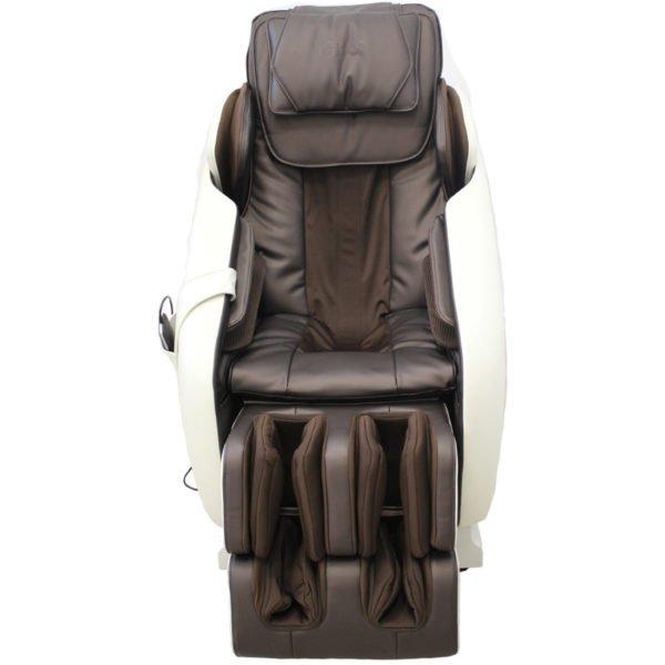 Gess массажное кресло Imperial для дома и офиса, 3D массаж, слайдер, бежево-коричневый