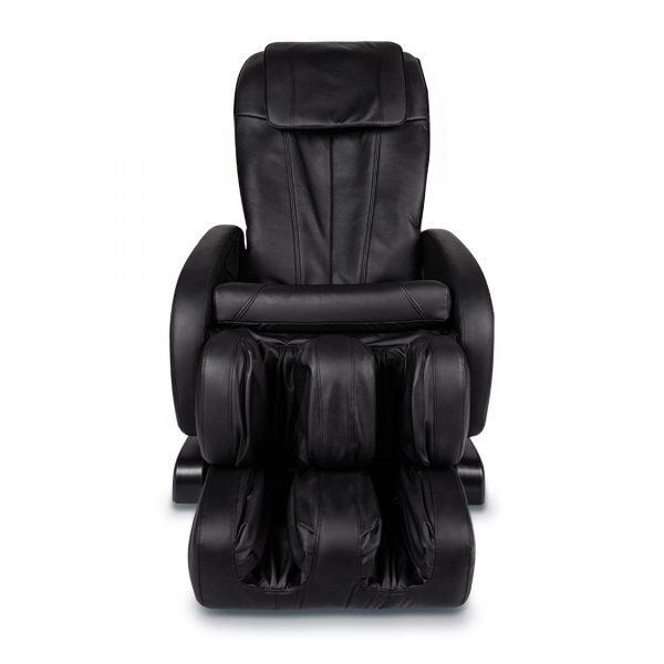 Массажное кресло Comfort (Комфорт) черное, сканирование тела, прогрев, 3 автоматические программы, GESS