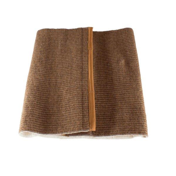 Медицинский согревающий пояс для поясницы и спины с шерстью верблюда разъемный №3 (m, 76-81)