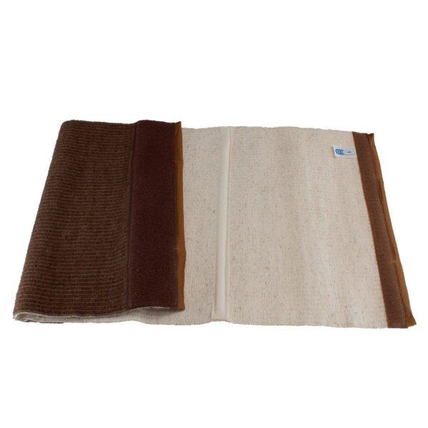 Медицинский согревающий пояс для поясницы и спины с шерстью верблюда разъемный №2 (S, 68-75)