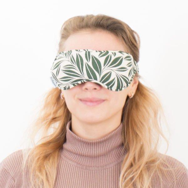 Маска для области вокруг глаз Fito Grass (Листья), прогрев, охлаждение, ароматерапия, EcoSapiens