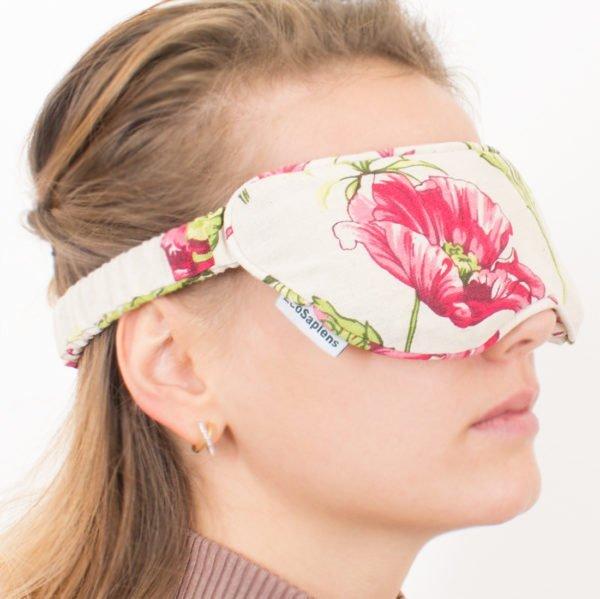 Маска для области вокруг глаз Fito Grass (Маки), прогрев, охлаждение, ароматерапия, EcoSapiens