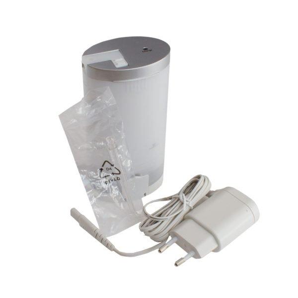 Ирригатор портативный Aqua Mini, 200 мл, 2 насадки, встроенный аккумулятор, адаптер, GESS-710