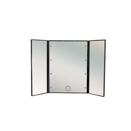 Настольное зеркало uLike Mini для макияжа с подсветкой, сенсорный экран, 16 LED ламп, GESS