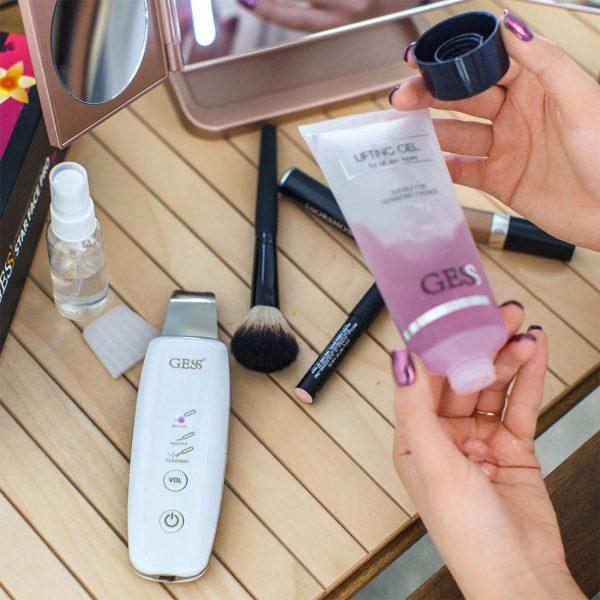 Star Face Pro прибор для ультразвуковой чистки лица с фонофорезом, уз-чистка, GESS-690