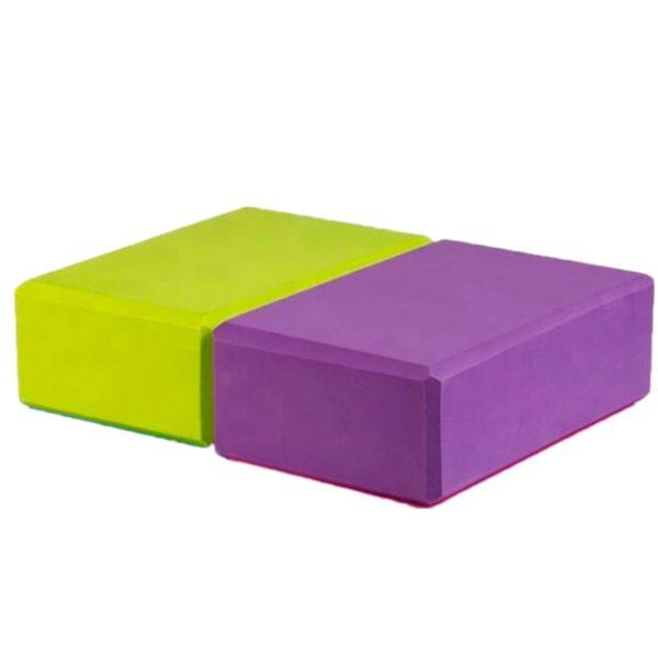 Eva Set, опорные блоки для йоги, 2 шт. в комплекте