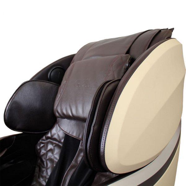 Массажное кресло Futuro, 11 массажных программ, колонки, bluetooth, L-образная каретка, GESS-830 coffee