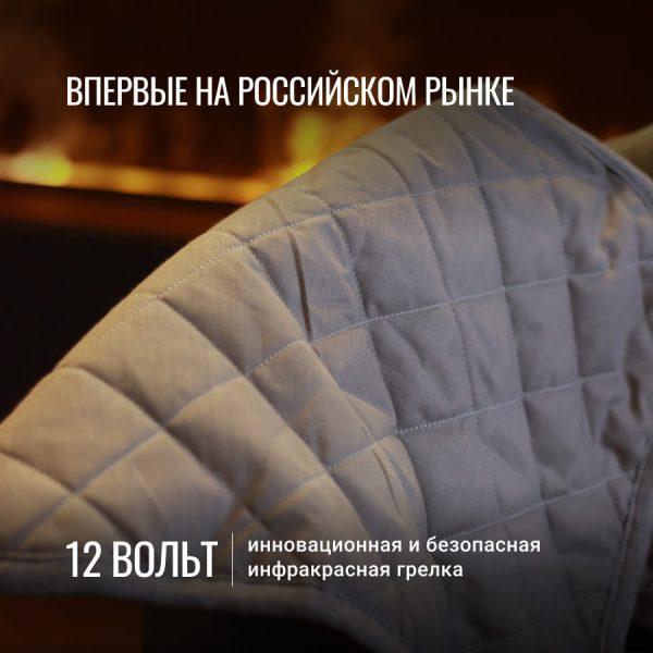 uWarm инфракрасная электрогрелка 12В, размер 40*50