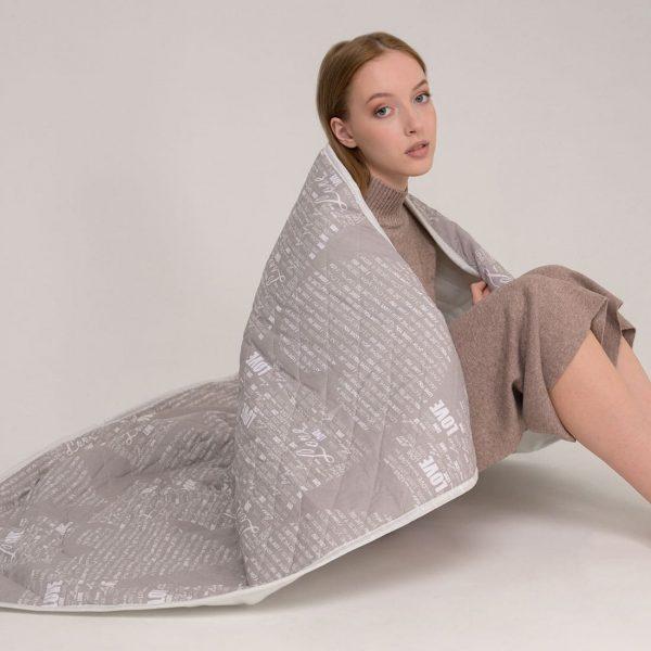 Электропростынь EcoSapiens Sofy квадраты 150х120 см