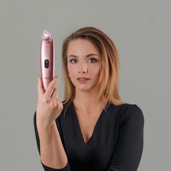 Аппарат для вакуумной чистки и шлифовки c микрокамерой GESS Sleek