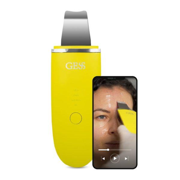 Аппарат для ультразвуковой чистки лица GESS Exotic